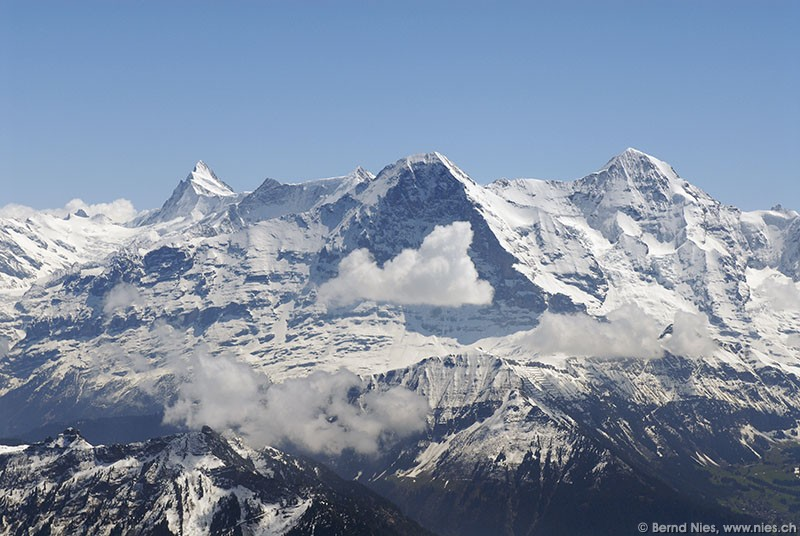 North wall of Mount Eiger