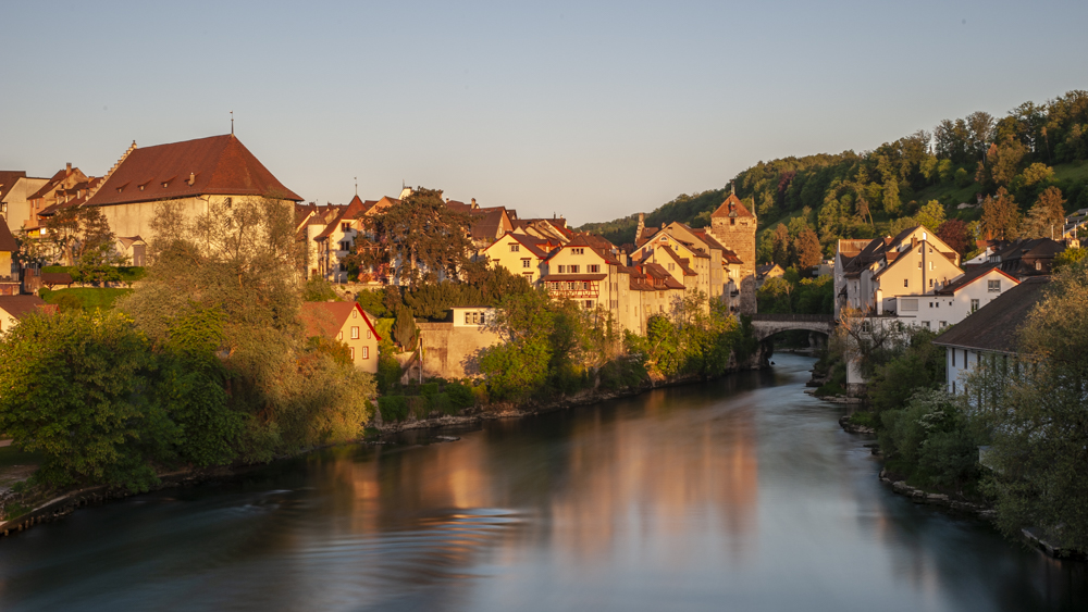 Brugg at Sunrise