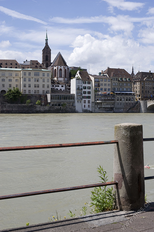 Rhine with Martins Church