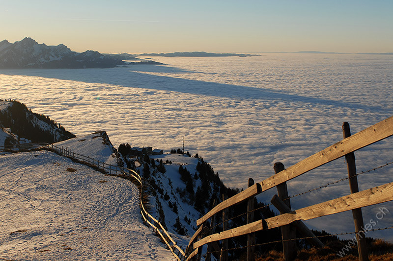 Rigi Fogsea and Sunset © Bernd Nies