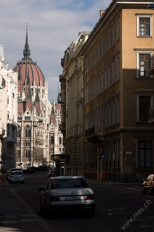 Road in Budapest