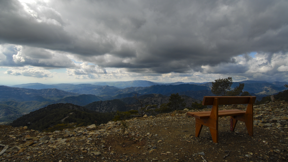 Image 22/32: Clouds above Troodos Mountains