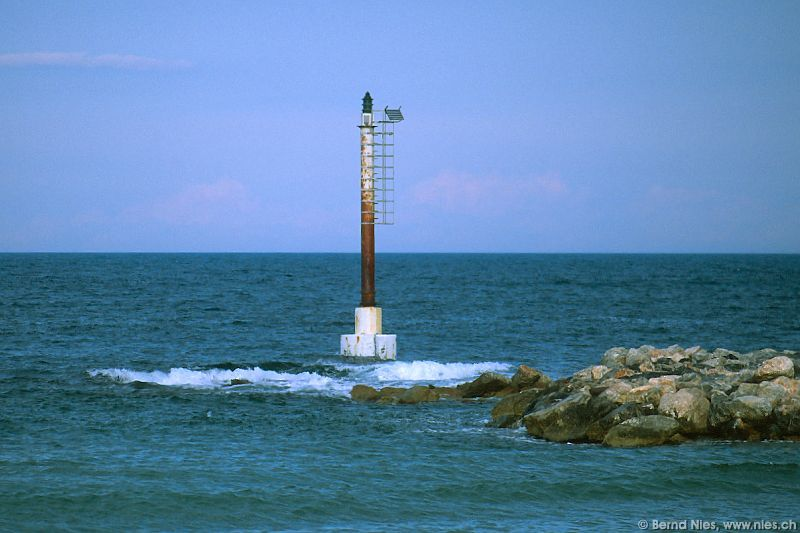 Signal pole in Banyuls