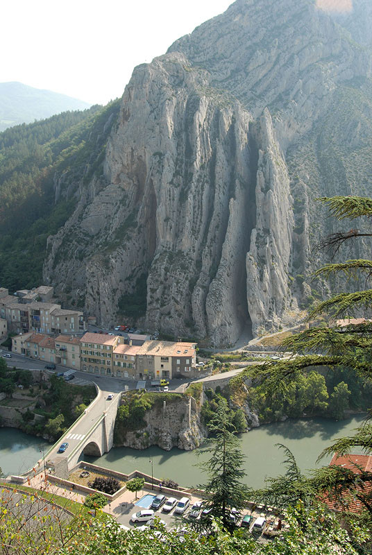 Sisteron from Above