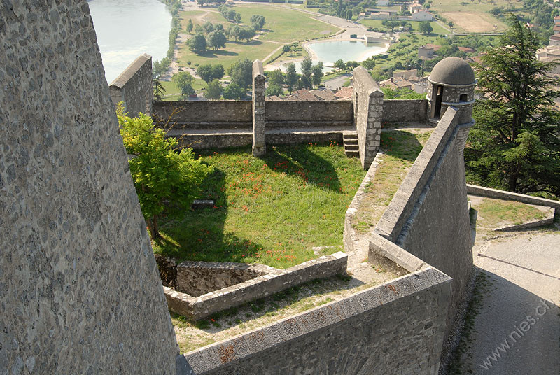 Das Fort in Sisteron