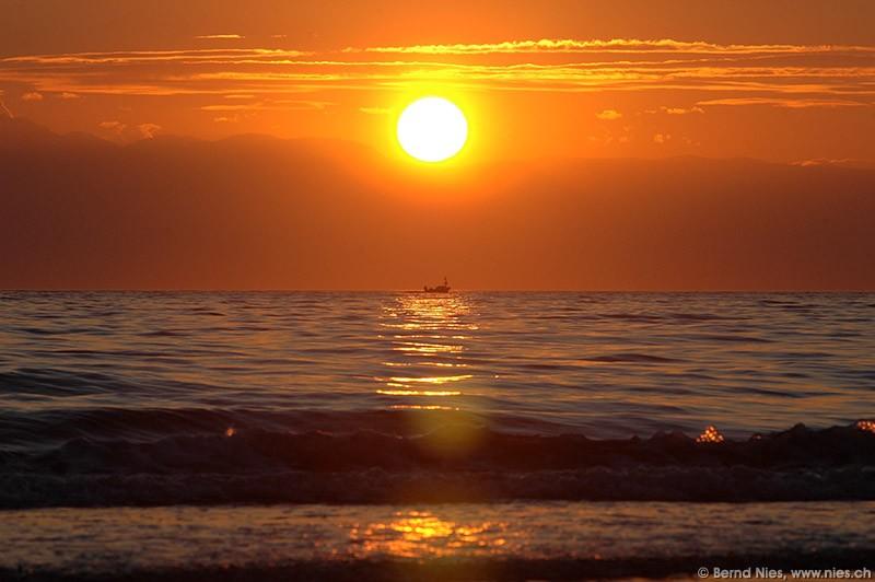 Sonnenuntergang / Side, Türkei / Die Welt / Fotos   Nies.ch
