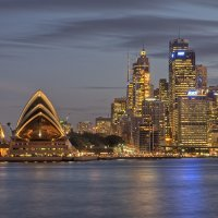 Opera House with Skyline
