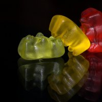 Gummi Bear Threesome