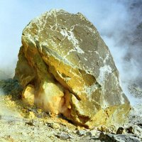 Rock with Sulfur