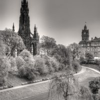 Princess Street Gardens, Edinburg