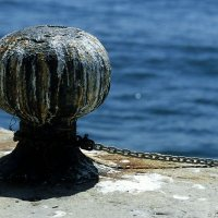 Bollard in Harbour