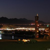 Sharm in der Nacht