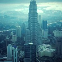 Petronas Twin Towers from TV Tower
