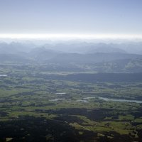 Allgäu with Alps