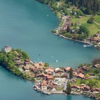 Photo Flight Lake Brienz