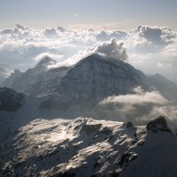 Alps and clouds © Bernd Nies