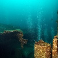 Bubbles from Thistlegorm